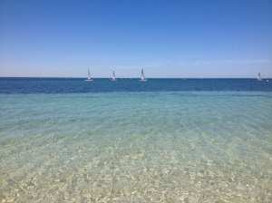 Sailboats at Shoalwater