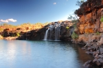 Manning Falls on the Gibb River Road, Western Australia