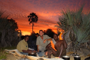 In 2007, Mr. Foreman organized a 3-man Trans-Okavango Delta expedition in Botswana.